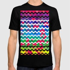 Mixed Colors SMALL Black Mens Fitted Tee
