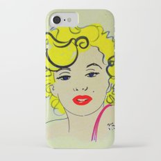 Out with Marylin iPhone 7 Slim Case