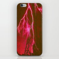Electric iPhone & iPod Skin