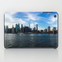 New York Skyline - Color iPad Case