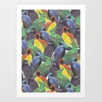 Birds Birds Birds Art Print