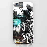 iPhone Cases featuring Free Spirit by owik