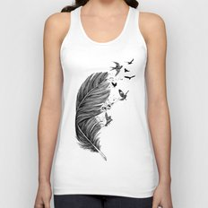 Fly Away Unisex Tank Top