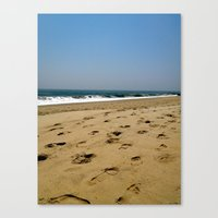 A Jersey Shore Canvas Print