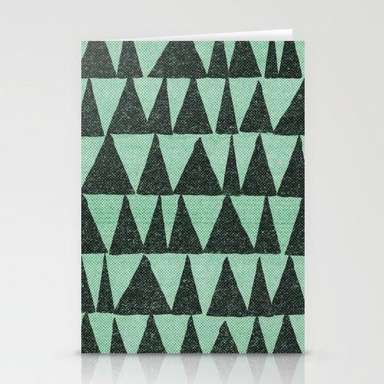 Analogous Shapes. Stationery Card