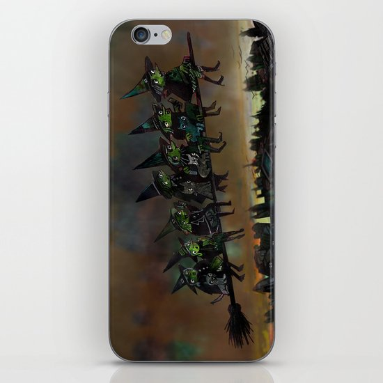 Night Flying.  iPhone & iPod Skin