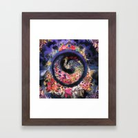Oracular Orbit Framed Art Print