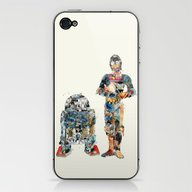 iPhone & iPod Skin featuring Modern Wars 1 by Bri.buckley