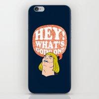 Hey-Man iPhone & iPod Skin