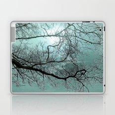 ABSTRACT-Blue Danube Laptop & iPad Skin