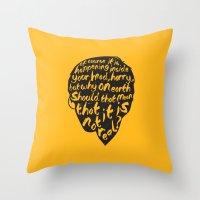 Inside Harrys Head Throw Pillow