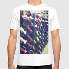 Shoes Matter White SMALL Mens Fitted Tee