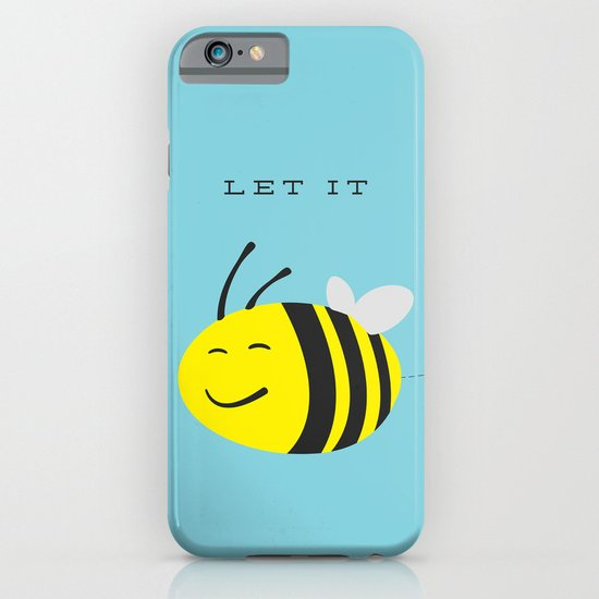 Let it bee. iPhone & iPod Case
