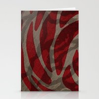 Jungle Red Stationery Cards