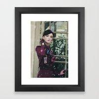 Snowscape VI Framed Art Print