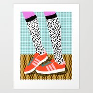Spiffy - Shoes Art Print… Art Print