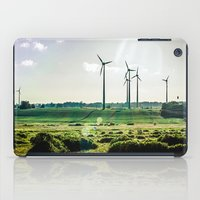 Wind generators iPad Case