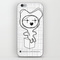 The Bear Is Waiting For … iPhone & iPod Skin