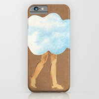 iPhone & iPod Case featuring Cloud Girl by Felicia Piacentino