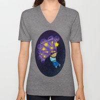 Dreaming Girl Unisex V-Neck