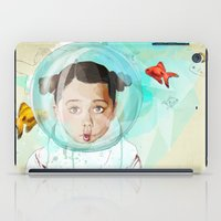 Fish Girl iPad Case