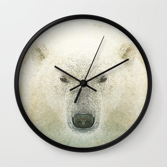 King of the north Wall Clock