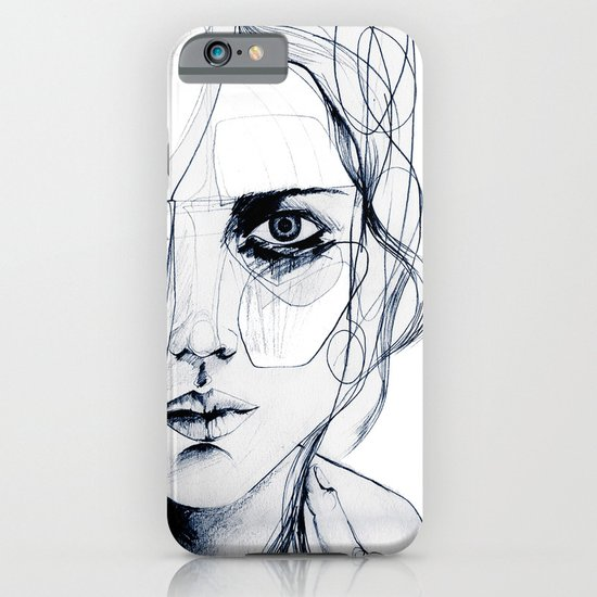 Sketch V iPhone & iPod Case
