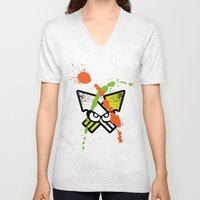 Splatoon - Turf Wars 1 Unisex V-Neck