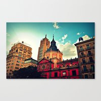 Madrid Sky Canvas Print