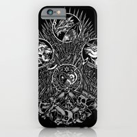 iPhone & iPod Case featuring Game of Thrones - Miles to go - iron throne by miles to go