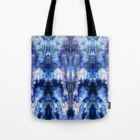 Blue Lagoon Tie-Dye Tote Bag