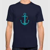 T-shirt featuring AFE~Nautical- Teal Ship … by AFE Images (Amalia F…