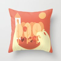 Grimm's Fairy Tales Throw Pillow