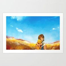 Everything is Right Art Print