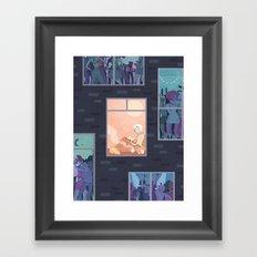 The Upside of Being an Introvert Framed Art Print