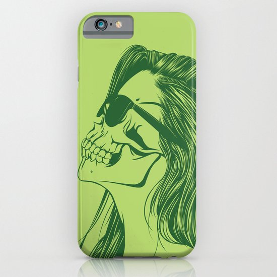 Skull Girl 2 iPhone & iPod Case