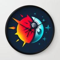 Solis et Lunae Wall Clock