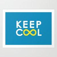 Forever coolness Art Print