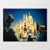 St. Nicholas Orthodox Church in Brasov, Romania Canvas Print
