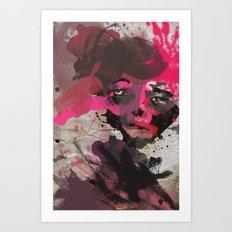 never let u go.. Art Print