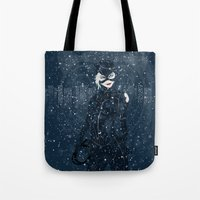 ME-OW. Catwoman Returns Tote Bag