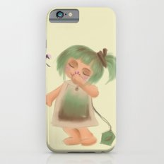 Green Tea Girl iPhone 6 Slim Case