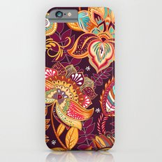 Boho Floral Fantasy Pattern Slim Case iPhone 6s
