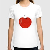 apple T-shirts featuring Apple by Roland Lefox