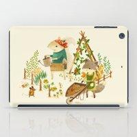Critters: Summer Gardeni… iPad Case