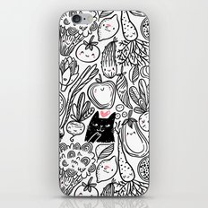 Funny Vegetables iPhone & iPod Skin