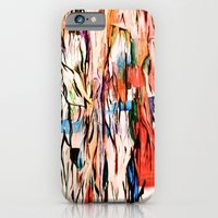 iPhone & iPod Case featuring Veins turn into roots by Claire Filz