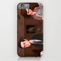 iPhone & iPod Case featuring Twin Peaks Diner by Aaron Lecours