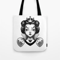 Snow White's Disenchantm… Tote Bag