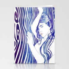 Water Nymph XXX Stationery Cards